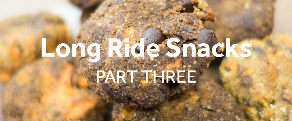 Snacks to make for long rides, part 3