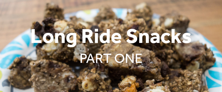 Snacks to make on long bike rides