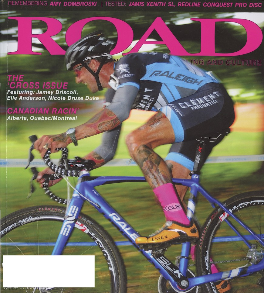 Team Raleigh-Clement's Ben Berden was featured on Road Magazine's December 'cross issue cover. The issue is available on newstands now.