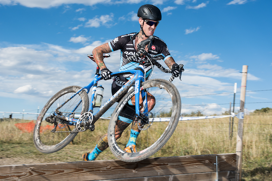 Ben Berden at the KickIt Cross event last weekend. Photo credit: Bo Bickerstaff