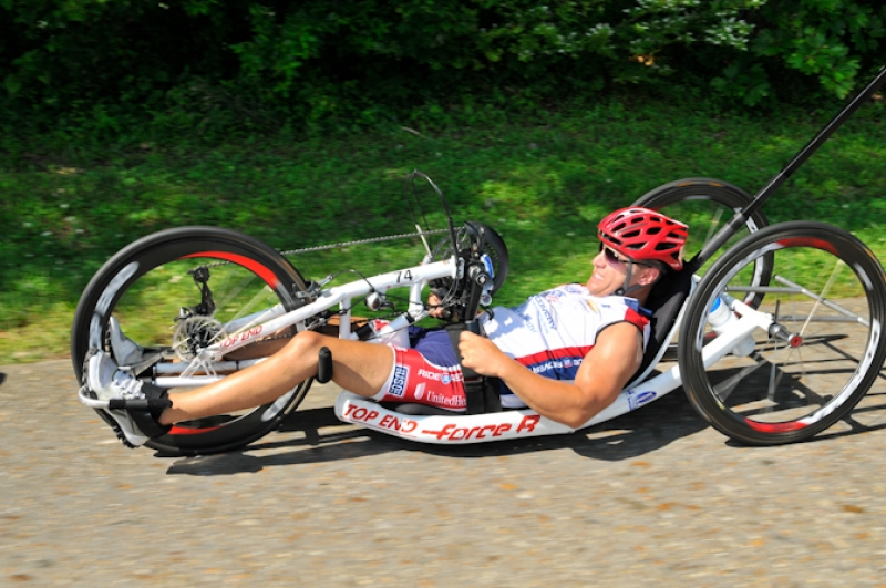 R2R: US PARALYMPIC TRIATHLETE GOT HIS START WITH RIDE 2 RECOVERY