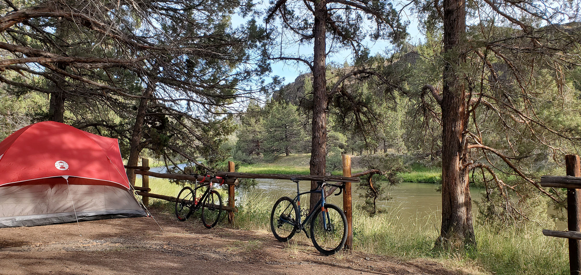 Camping at Crooked River