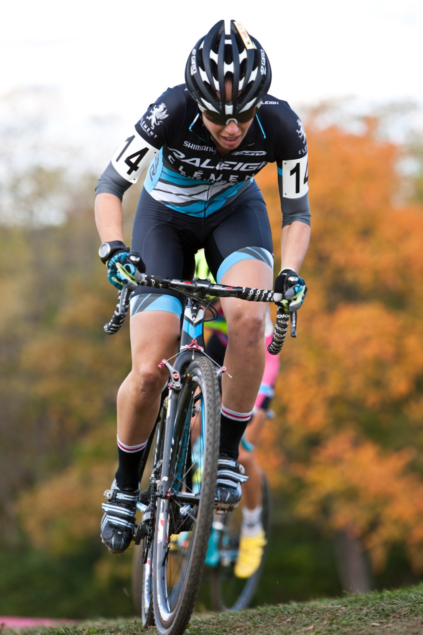 Rebecca Gross raced consistently in the Cincy3CX (photo: Michael Robson)