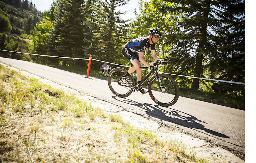 Craig Etheridge seems to feel most at home on a single speed.