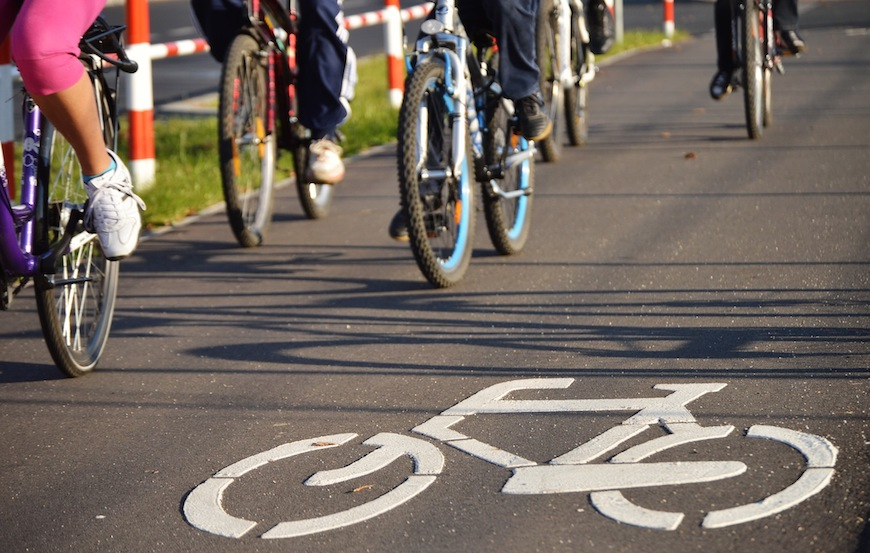 Protected bike lanes are popping up in cities around the country.