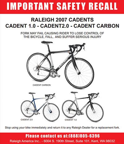 2007 Cadet Recall