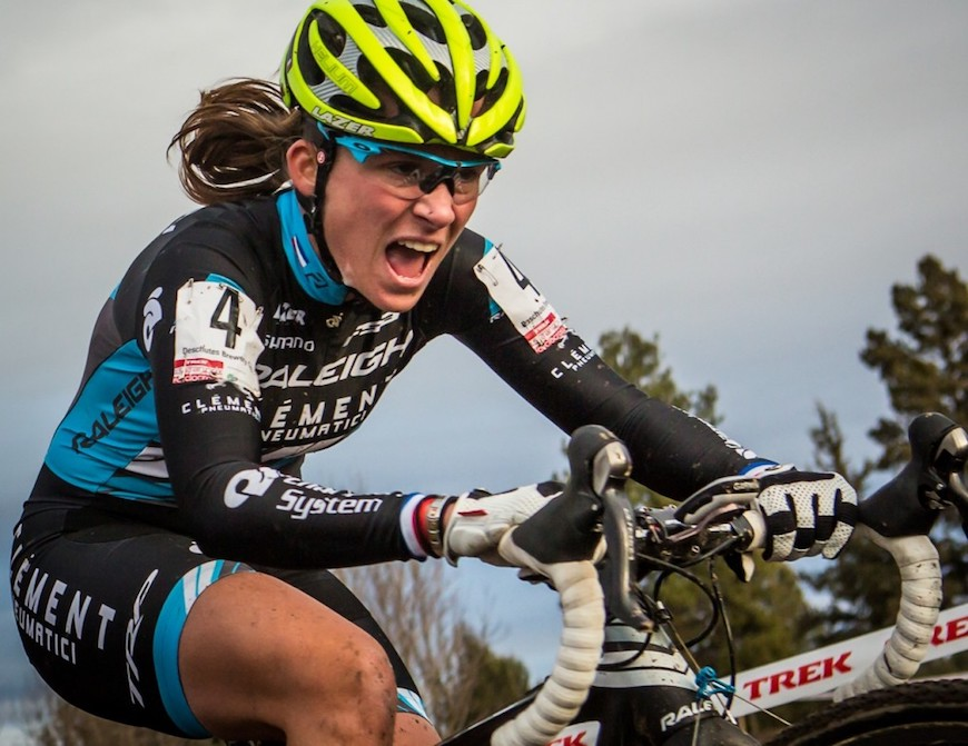CHAMPION CHICK: Q&A WITH RALEIGH-CLEMENT CYCLOCROSS RACER CAROLINE MANI