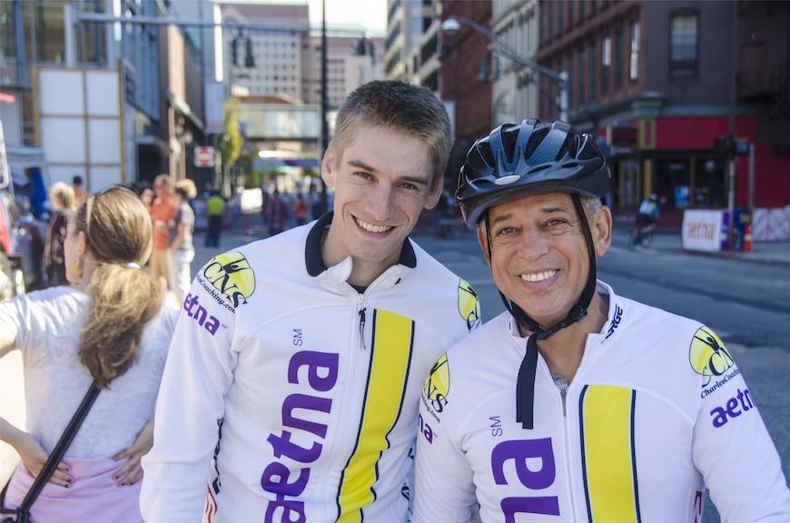 Dave Hoyle and Hartford's Mayor Pedro Segarra