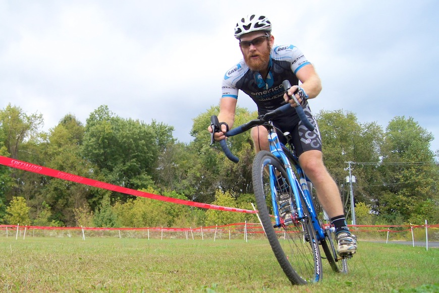 Robert Marion racing 'cross. Image courtesy of American Classic / Xpedo PRO Mountain Bike Team.