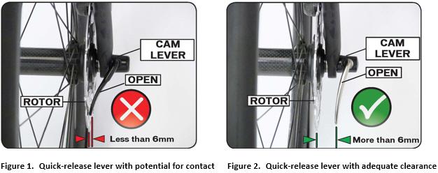 Quick-release lever