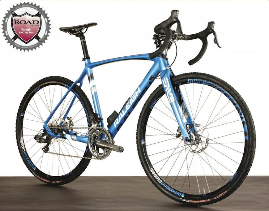 Raleigh RXC Pro is ROAD Magazine CX Bike of the Year