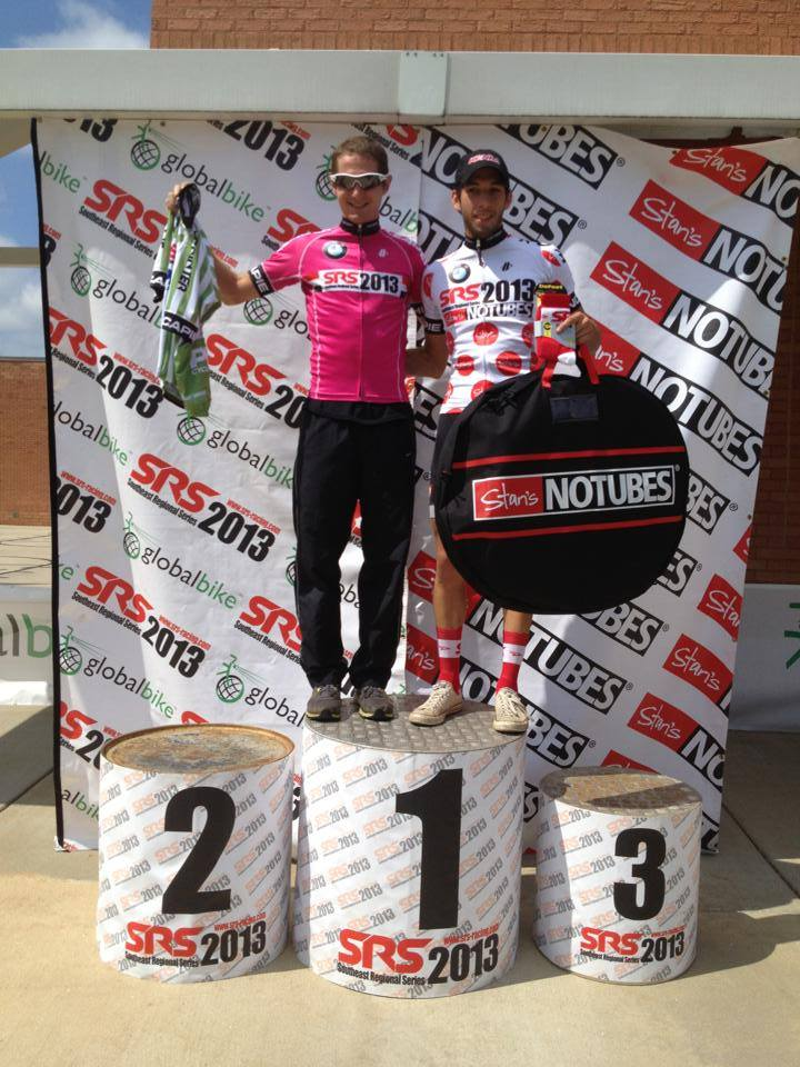 Winners!: Winston David (Overall) and Andy Scarano (KOM)