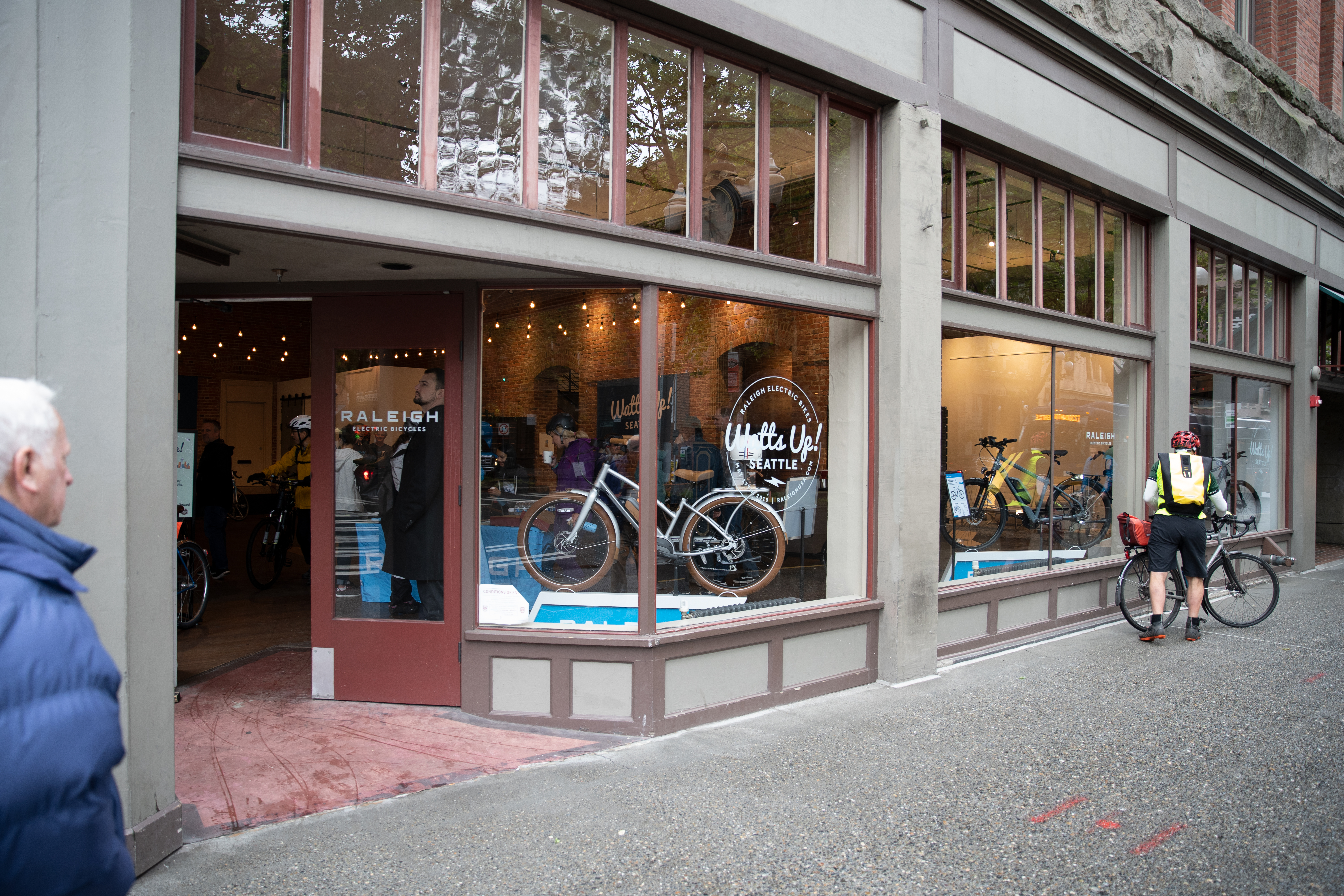 Watts Up Seattle Raleigh pop-up storefront