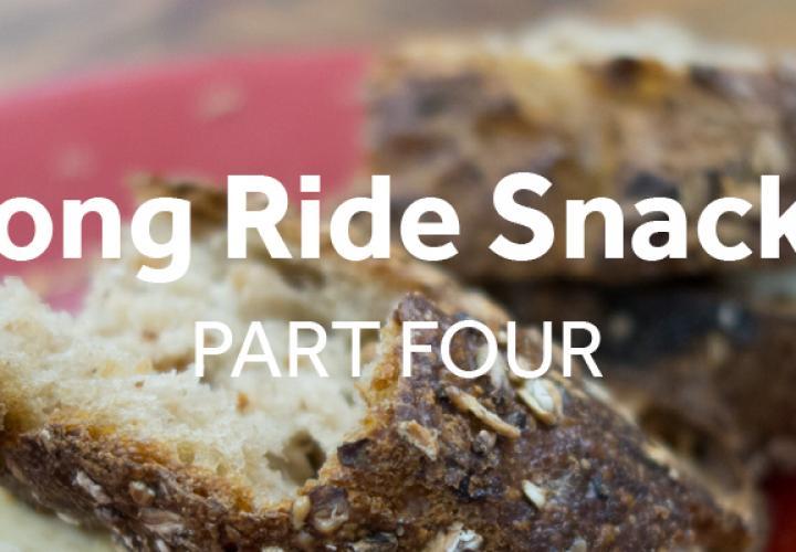 Snacks to make for long bike rides