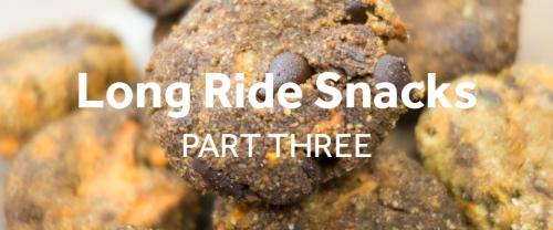Snacks to make for long bike rides