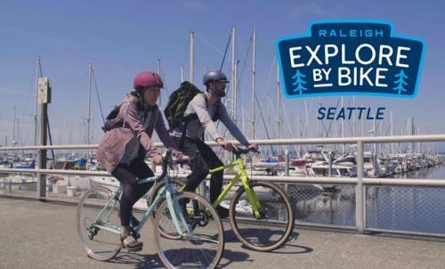 Bike riders in Seattle